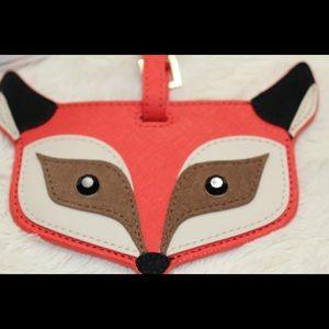 Kate Spade Fox Luggage Tag